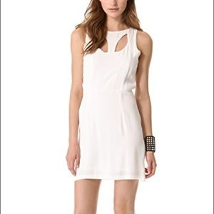NWT MINKPINK Dress White Peekaboo Mini Cutout